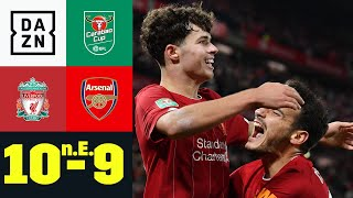 Baixar Wahnsinnsspiel! Reds gewinnen 10-Tore-Spektakel: Liverpool - Arsenal 10:9 n.E. | Carabao Cup | DAZN