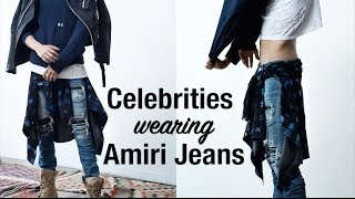 Celebrities Wearing Amiri Jeans with Wale, Justin Bieber, Future, James Harden and more