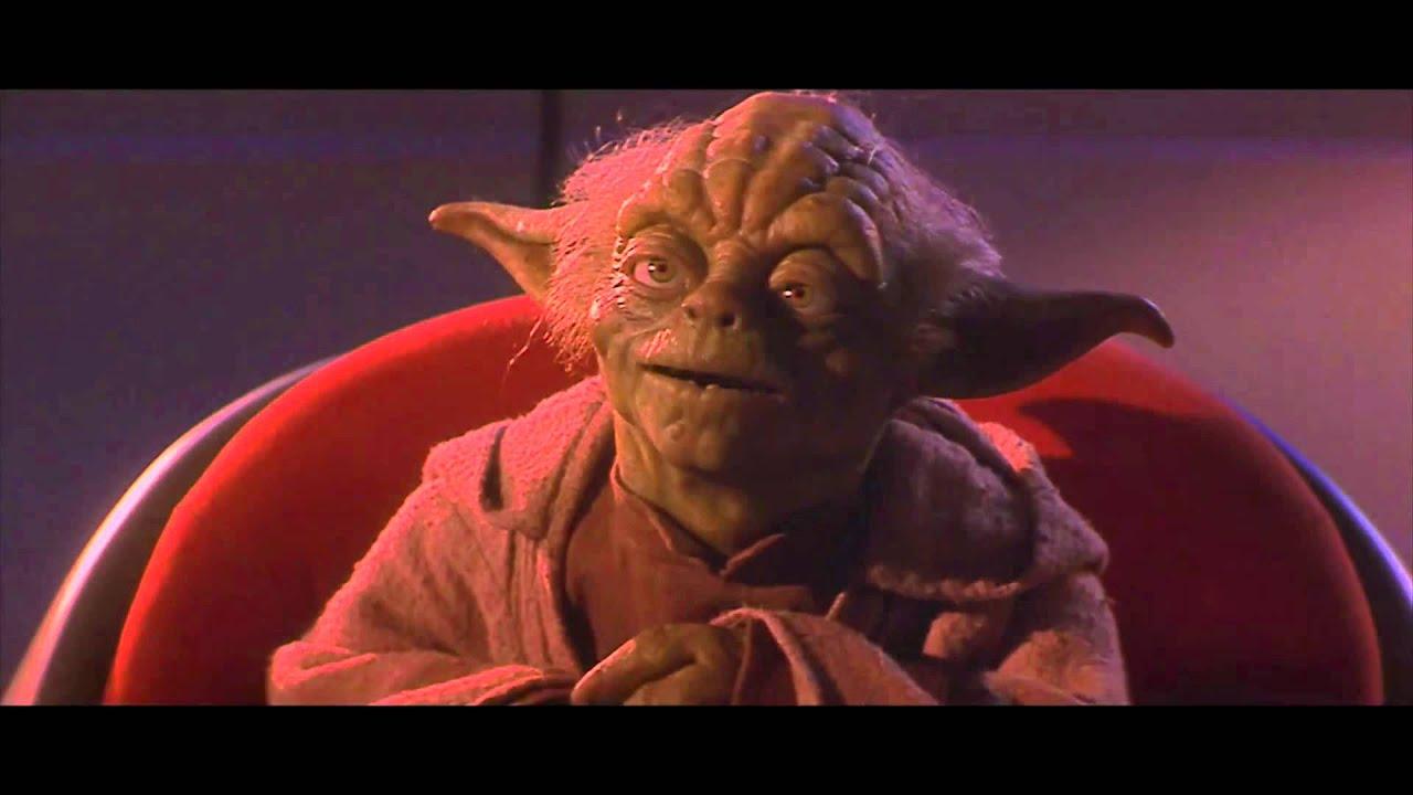 The CGI Yoda For The Star Wars Release On Bluray The Phantom - Scenes original star wars created cgi