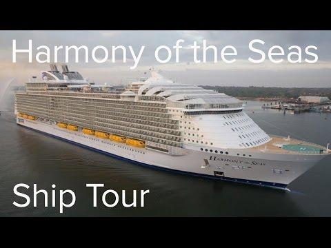 HARMONY OF THE SEAS - Full Ship Tour (Royal Caribbean)