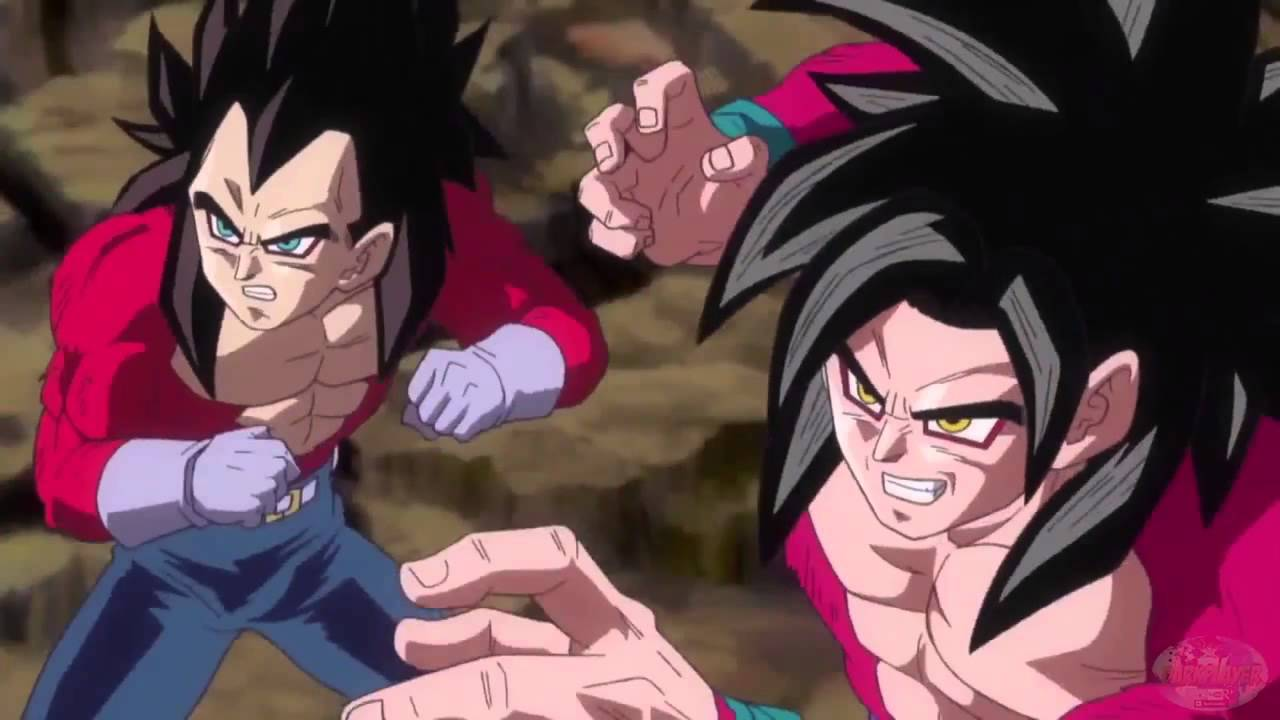 Dragon Ball Heroes JM6 JM7 Aberturas Super Saiyan 4 Broly SSJ 4