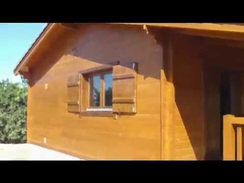 Casa de madera laura 77m2 youtube - Youtube casas de madera ...