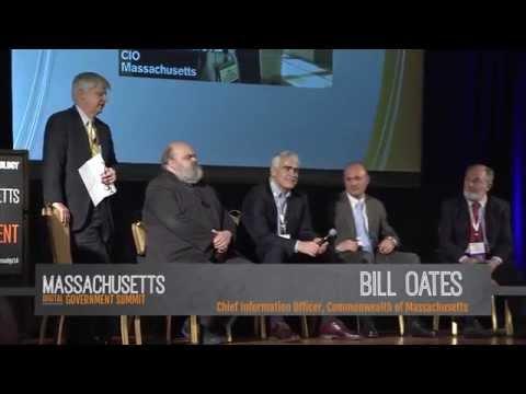 Massachusetts Digital Government Summit 2014 – Past & Present CIO Panel