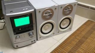 Test dàn loa mini Sony nội địa Nhật zin HCD-M3 điện 100 lh 0982718935