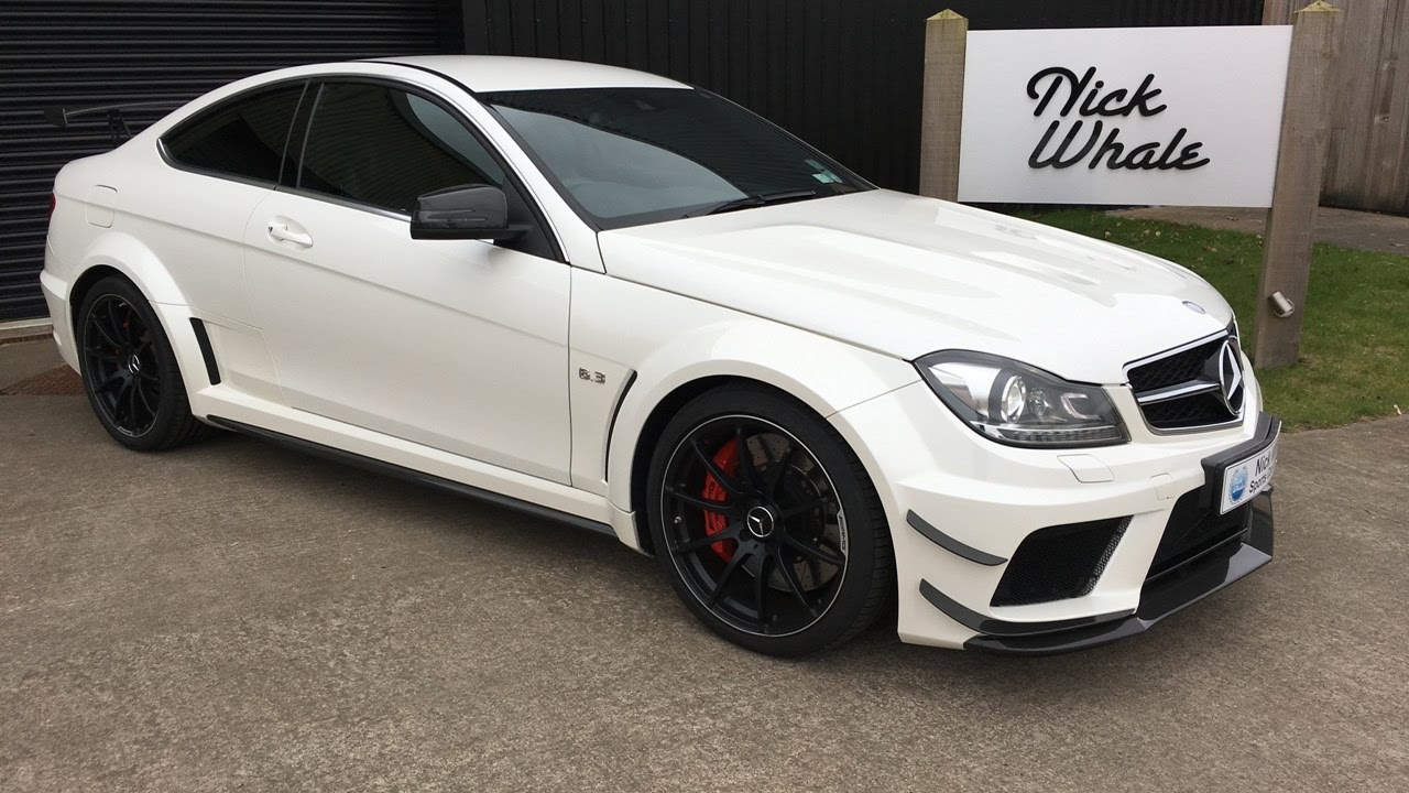 for sale mercedes c63 amg black series 2012 nick whale sports cars youtube. Black Bedroom Furniture Sets. Home Design Ideas