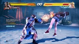 Tekken 7 Steve b+1~b(CH) Combos | PS4