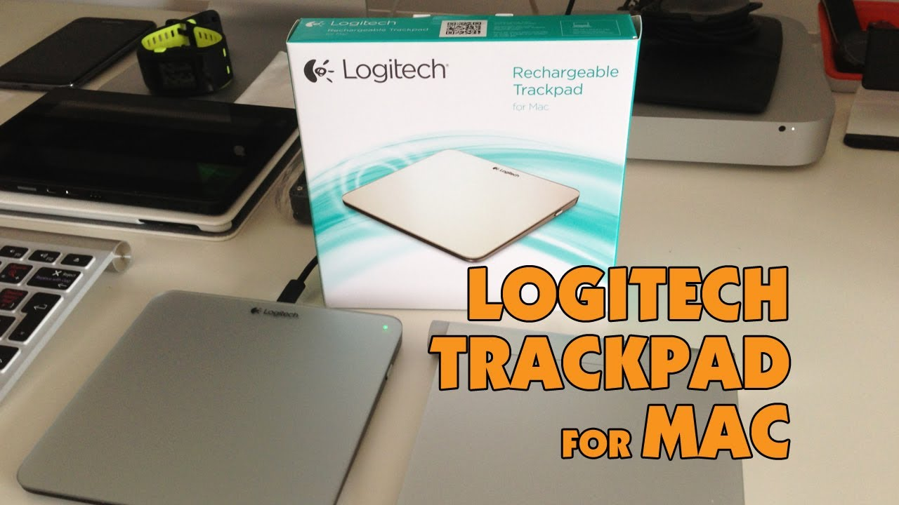 b8e526fd027 Logitech T651 Rechargeable Trackpad for Mac - YouTube
