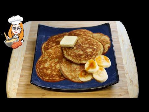Spelt Banana Pancakes | Meal Prep | Mini Dash Griddle