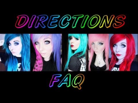 Alles über Directions | FAQ | Hair Color Remover b4