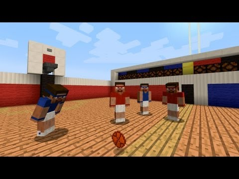 Basketball in Minecraft [Hoppers]