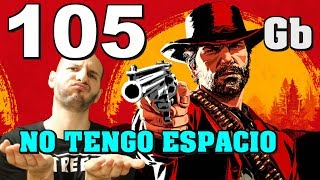 ADIOS DISCO DURO CON RED DEAD REDEMPTION 2, OCUPA 100 GB DE MEMORIA - Sasel - Ps4