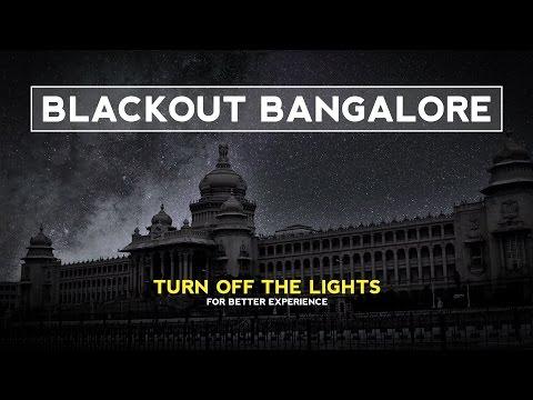 Blackout Bangalore | How Bangalore Would Look Like Under the Stars