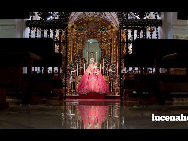 Vídeo: En torno a 5.000 devotos han pasado por el Besamanos Extraordinario a María Stma. de Araceli