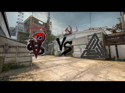 CS:GO VIPER vs illusion Scrim