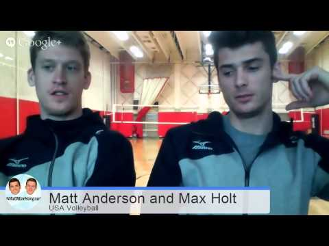 Hangout with Matt and Max