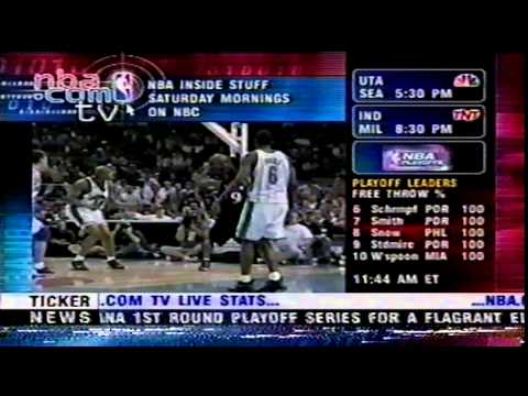 NBA.com TV: 2000 NBA Playoffs Preview Video Package