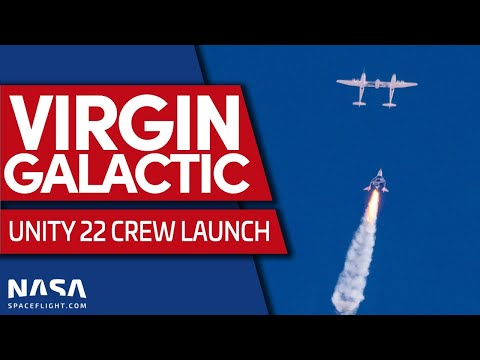 Virgin Galactic launches Richard Branson to space on Unity 22