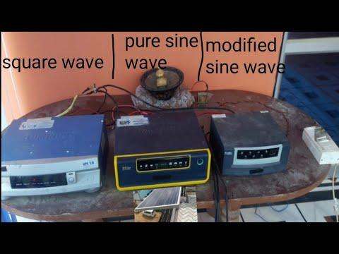 inverter konsa le sine wave ya square wave