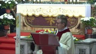 7 Aprile 2018 Santa Messa Primi Vespri ore 1830 Omelia