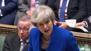 May gets the confidence of the House but by 19 votes