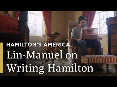 Lin-Manuel Miranda on Writing in Aaron Burr's Bedroom | Hamilton's America