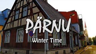 Winter in PÄRNU, Estonia | Зима в летней столице Эстонии городе Пярну | Talv Pärnus