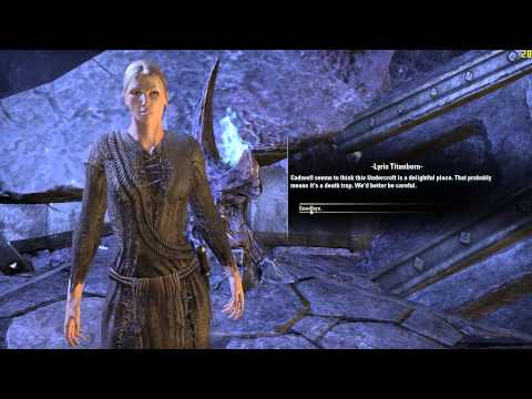 The Elder Scrolls Online gameplay AlfieAllen