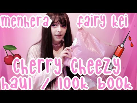 CherryCheezy Haul/Look Book - 💊 Menhera & Fairy Kei✨