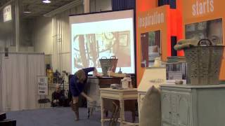 Annie Sloan Chalk Painting Demo At The Home & Remodeling Show #2