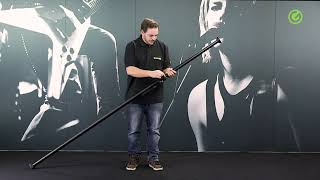 Gravity LS VARI-POLE 01 B - Clamping Pole Vari-Pole®, 2.10 - 3.70 m