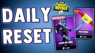 FORTNITE DAILY SKIN RESET!! Fortnite Battle Royale New Daily Items in Item Shop