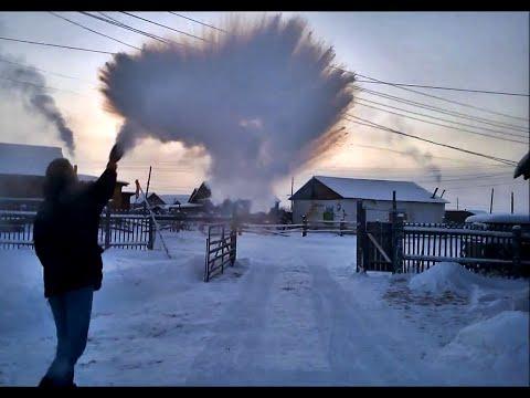 download -56°C (-69°F) from Yakutsk to Oymyakon in winter - THE MOVIE [HD] 2015
