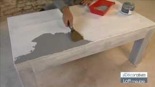 Peinture v33 renovation meuble cuisine deboj - Peinture effet beton pour meuble ...