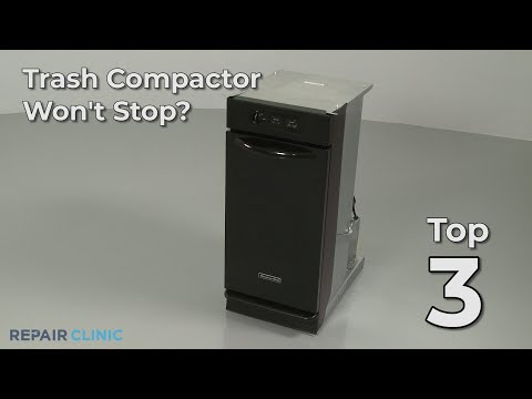 "Thumbnail for video ""Trash Compactor Won't Stop? Trash Compactor Troubleshooting"""