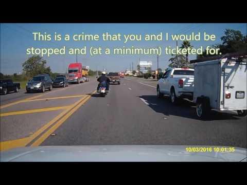 Harris County Sheriff Dept= MC Blue Privilege (again)
