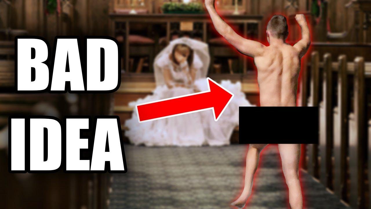 Groom GOES STREAKING Before Wedding!! *Florida Vlog*