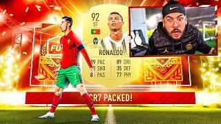 OMG I PACKED RONALDO!! NO WAY!! FIFA 21