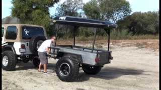 Used Off-Road Trailer - Overland 4x4 & Jeep Ready