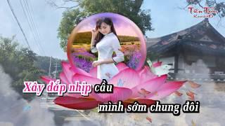 Tình Đẹp Làng Quê - kara demo - Diễm Hân ft Đồng Thanh Tâm