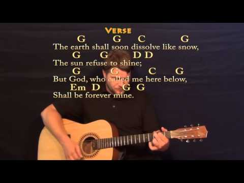 Amazing Grace - Strum Guitar Cover Lesson with Chords/Lyrics