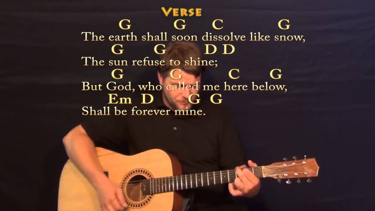 Amazing grace strum guitar cover lesson with chordslyrics youtube hexwebz Gallery