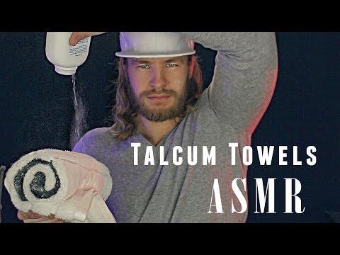 ASMR ☁️ POWDERED ☁️ TOWELS ☁️ For SLEEP