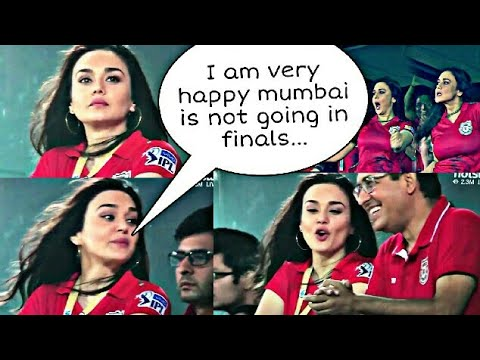 IPL 2018: Did Preity Zinta say 'very happy that Mumbai Indians is not going to the playoffs'