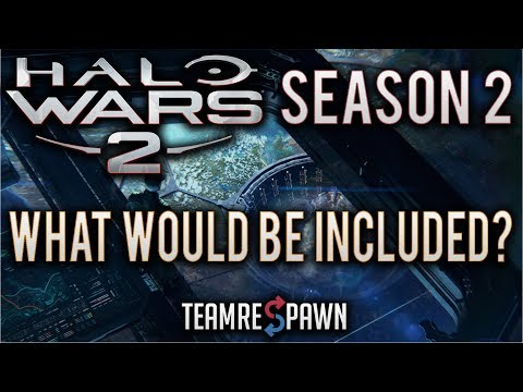 Halo Wars 2 Second Season Pass - What Content Should Be Included?