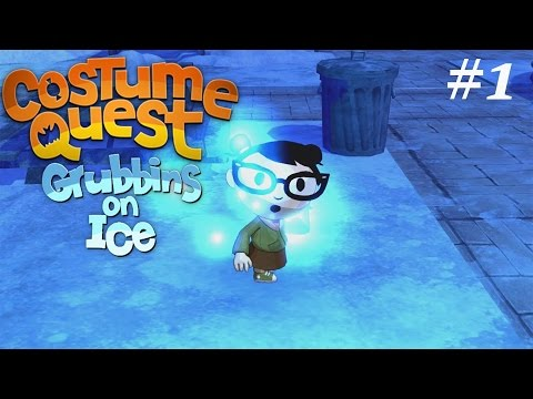 Costume Quest: Grubbins On Ice(DLC): Episode 1(Into The Portal!)