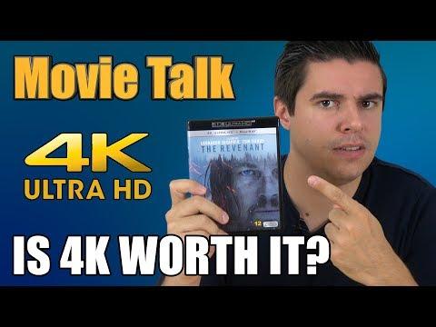 Movie Talk - are 4K movies worth it?