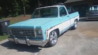 "My ""NEW"" to me 1975 Chevy C10 Silverado truck made it home! Let the fun begin! Time to clean it up!"