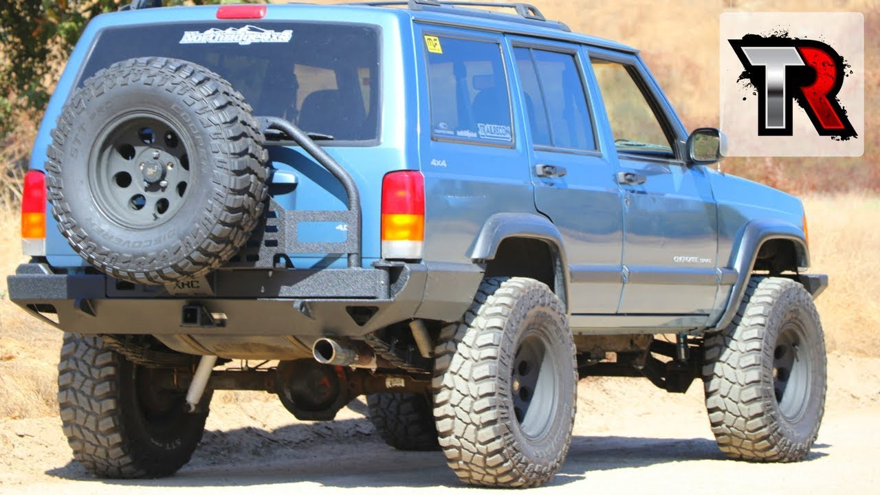 Jeep Cherokee Xj Rear Bumper With Tire Carrier