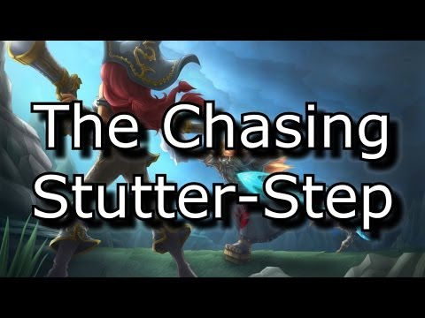 The Chasing Stutter Step: An Advanced Mechanical Tactic For Melee Champions | League Of Legends LoL