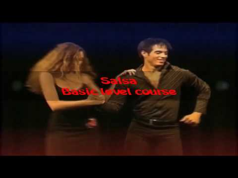 Chapter. 02-13.Basic step & Figure 1- Salsa-Basic level course.English